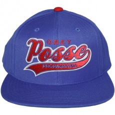 Casquette Snapback Obey - On Deck Snapback - Blue