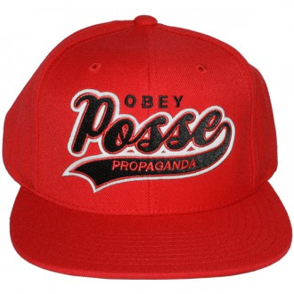 Casquette Snapback Obey - On Deck Snapback - Red