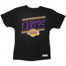 T-shirt Mitchell & Ness - Assist Trad - Los Angeles Lakers - Black