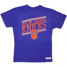 T-shirt Mitchell & Ness - Assist Trad - New York Knicks - Royal Blue