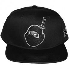 Casquette Snapback Rocksmith - Head Ninja - Black/Black
