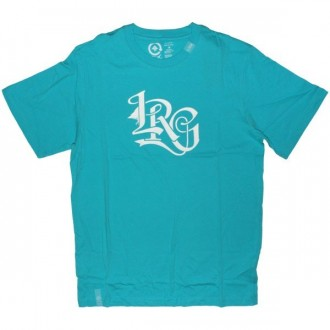 LRG T-shirt - Solid Ground Tee - Aqua