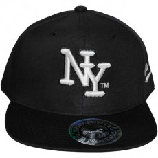 Casquette Snapback City Hunter - NY - Noir logo blanc