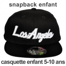 Casquette Snapback Enfant KB Ethos - Los Angeles - Noir