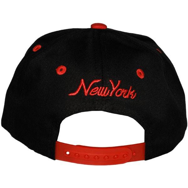 casquette snapback enfant kb ethos new york noir rouge. Black Bedroom Furniture Sets. Home Design Ideas