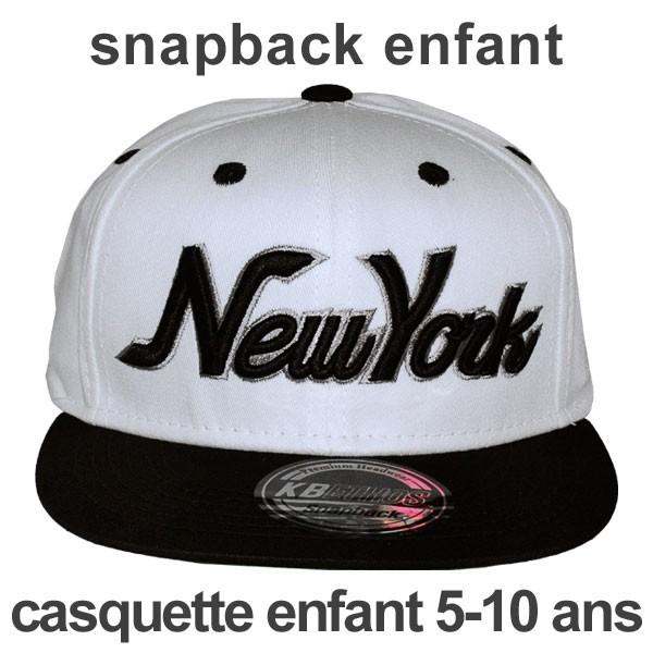 Casquette New York Noir Et Blanche