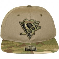 Casquette Snapback 47 Brand - Air Raid Clean Up - Pittsburgh Penguins
