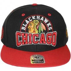 Casquette Snapback 47 Brand - Boost - Chicago Blackhawks
