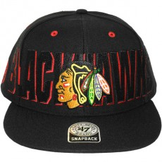Casquette Snapback 47 Brand - Double D Battery - Chicago Blackhawks