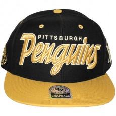 Casquette Snapback 47 Brand - Retro Script - Pittsburgh Penguins