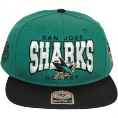Casquette Snapback 47 Brand - Sneaky Pete - San Jose Sharks