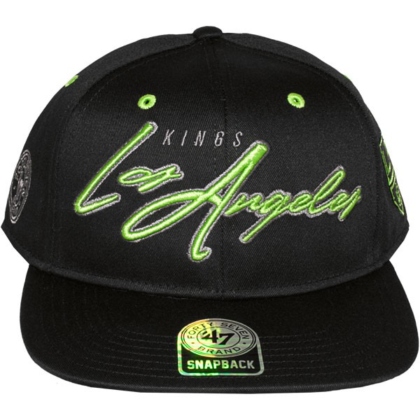 casquette snapback 47 brand sweet cheese los angeles kings. Black Bedroom Furniture Sets. Home Design Ideas
