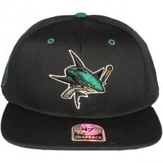 Casquette Snapback 47 Brand - Twill Oath - San Jose Sharks