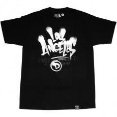 T-shirt Dissizit - Astro LA - Black