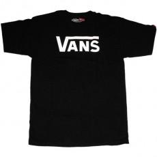 T-shirt Vans - Vans Classic - Black/White