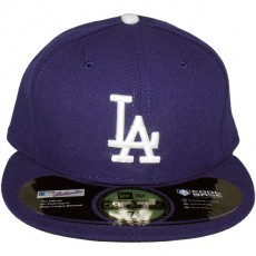 Casquette Fitted New Era - 59Fifty MLB Authentic Collection - Los Angeles Dodgers