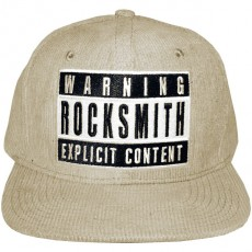 Casquette Snapback Rocksmith - Explicit Corduroy snapback - Heather Grey