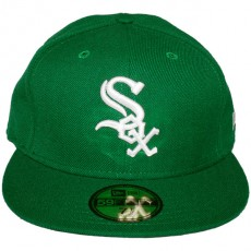 Casquette Fitted New Era - 59Fifty MLB Basic Collection - Chicago White Sox - Green/White