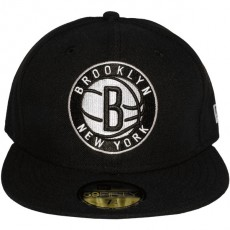 Casquette Fitted New Era - 59Fifty NBA Team Secondary Logo - Brooklyn Nets