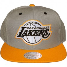 Casquette Snapback Mitchell & Ness - NBA Arch Undervisor - Los Angeles Lakers