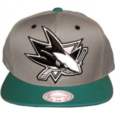 Casquette Snapback Mitchell & Ness - NHL Arch Undervisor - San Jose Sharks