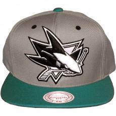 Casquette Snapback Mitchell & Ness - NHL Arch Undervisor - San Jose Sharks