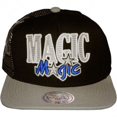Casquette Snapback Mitchell & Ness - NBA Laser Stitch - Orlando Magic