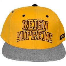 Casquette Snapback King Apparel x Starter - Reign Supreme Starter Snapback - Yellow/Grey