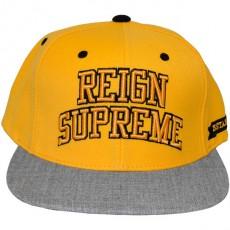 Casquette Snapback King Apparel x Starter - Reign Supreme Starter Snapback - Yellow/Grey