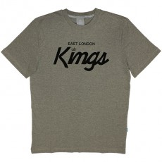 T-shirt King Apparel - East London Kings - Grey
