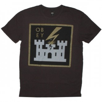 OBEY Antiques T-Shirt - Leaving Babylon - Grap