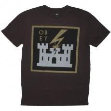OBEY Antiques T-Shirt - Leaving Babylon - Grap