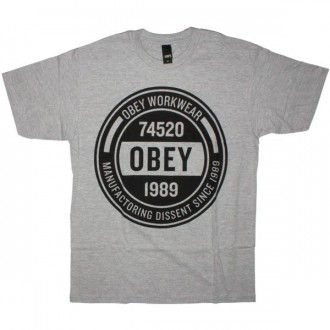 OBEY Basic T-Shirt - Obey Workwear - Heat