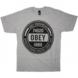 OBEY Basic T-Shirt - Obey Workwear - Heat