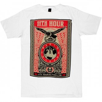 OBEY T-shirt - 11th Hour - White