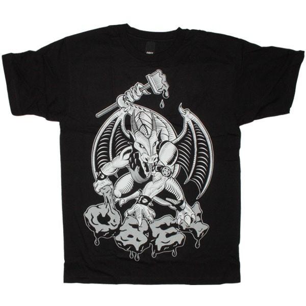Obey dragon black t shirt obey obey dragon black sur for Black obey t shirt