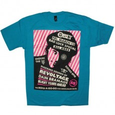 OBEY T-shirt - Bad Luck Special - Turq