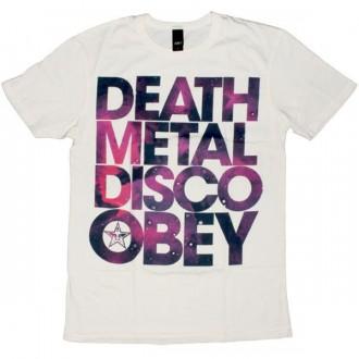 OBEY T-shirt - Death Metal Disco - Scour