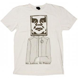 OBEY Antiques T-Shirt - No Justice, No Peace - Scour