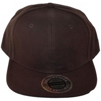 Casquette Snapback City Hunter - Unie marron