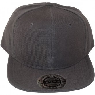 Casquette Snapback City Hunter - Unie grise