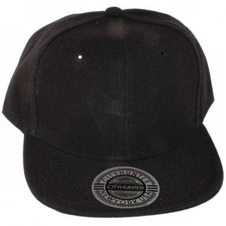 Casquette Snapback City Hunter - Unie noire