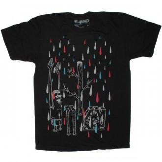 Ambiguous T-shirt - Acid Rain - Black