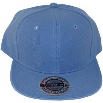 Casquette Snapback City Hunter - Unie bleu ciel