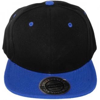 Casquette Snapback City Hunter - Noir / Bleu