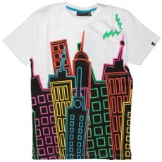 PA:NUU T-shirt - Ditz - White