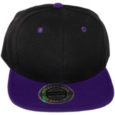 Casquette Snapback City Hunter - Noir / Violet