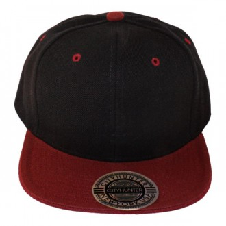 Casquette Snapback City Hunter - Noir / Bordeaux