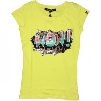 PA:NUU Lady T-shirt - Deborah Tee - Yellow