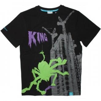KING APPAREL T-Shirt - Monster Mash - Black